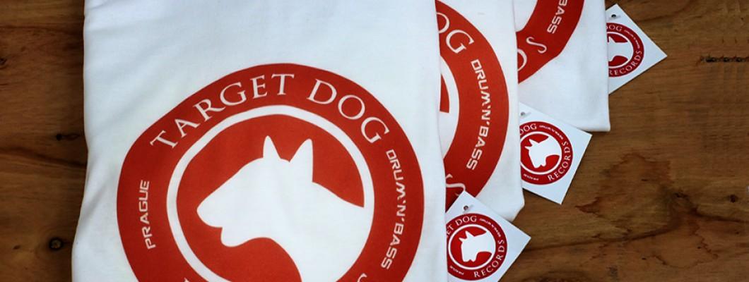 Тениските на Drum & Bass label Target Dog са готови!