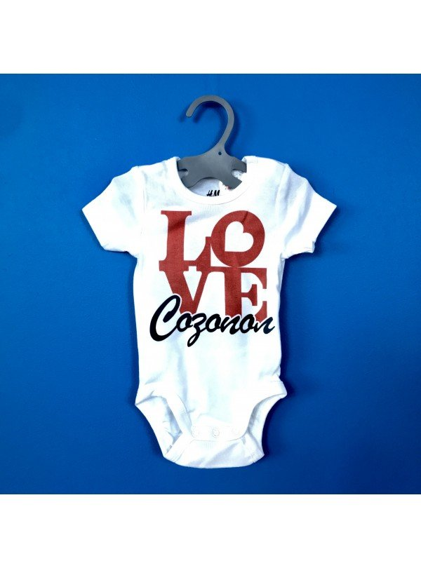 Love Sozopol Бебешко Боди С Дизайнерски Принт