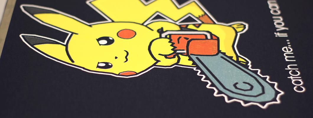 Директе DTG печат на цветни тениски