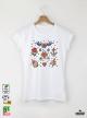 Lady Tattoo Дамска Бяла Тениска С Дизайнерски Принт