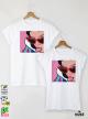 Cinderella Тениски за двойки с дизайнерски принт