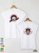 King Queen Stamp Тениски за двойки с дизайнерски принт