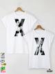 XX Тениски за двойки с дизайнерски принт