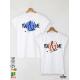 You & Me Тениски за двойки с дизайнерски принт