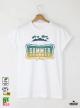 Summer Journey Мъжка бяла тениска с дизайнерски принт