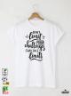 Dont Limit Мъжка бяла тениска с дизайнерски принт
