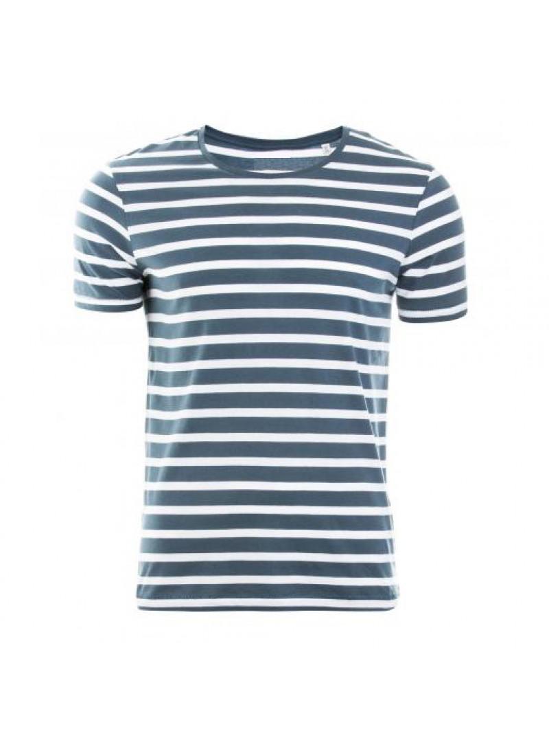 Striped Мъжка Раирана Тениска От Органичен Памук
