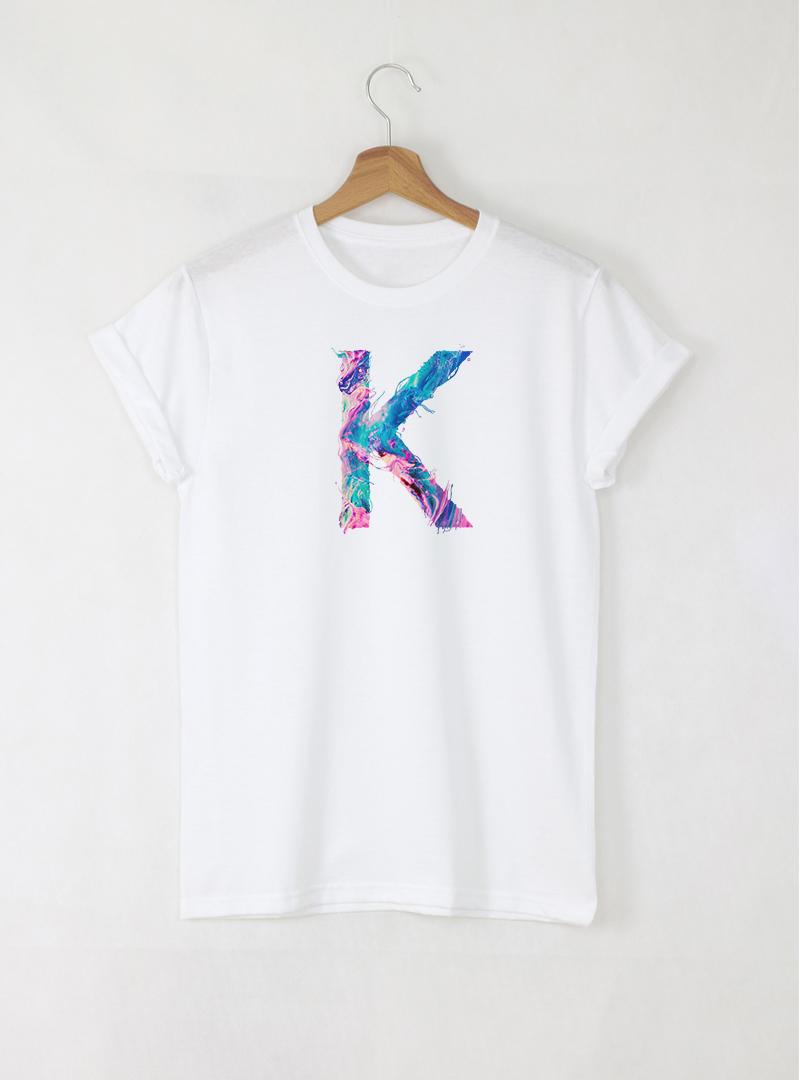 Дамски Бели Тениски с Букви