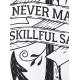 Smooth Sea  Mъжка бяла тениска с дизайнерски принт